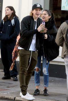 Brooklyn Beckham wearing  Vans Authentic Sneakers, Pull