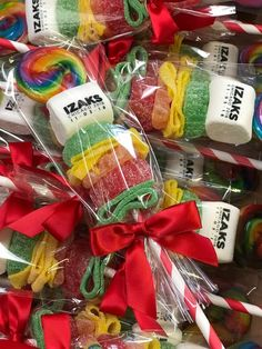 12 Personalized Candy Cabob skewer children's birthday party favor name candy rainbow primary colors Birthday Favors, Unicorn Birthday Parties, Unicorn Party, Rainbow Unicorn, Birthday Celebration, Candy Bags, Candy Gifts, Carnival Themed Party, Circus Party