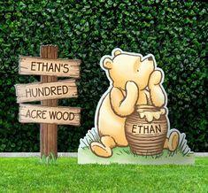 Baby Shower Yellow, Baby Yellow, Baby Boy Shower, Daniel Tiger Birthday, Lion King Birthday, Winnie The Pooh Themes, Winnie The Pooh Birthday, Pooh Bebe, 100 Acre Wood