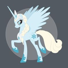 My Little Snow Queen - Frozen and My Little Pony Mashup on TeePublic! http://bit.ly/1kmKV2e