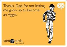 Thank your parents, Longhorns!