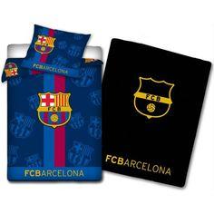 FC Barcelona - Bedding - Glow in the dark - 140x200 cm (180186) fra Coolshop. Om denne nettbutikken: http://nettbutikknytt.no/coolshop-com/