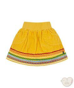 little bird by Jools mustard skirt Little Bird Clothing, Little Bird By Jools, Mustard Skirt, Cool Kids Clothes, Cheer Skirts, Cord, Yellow, Baby, Dresses