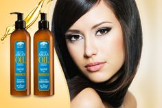 Argan Oil Set: 300ml Shampoo & 300ml Conditioner