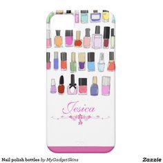 Nail polish bottles iPhone SE/5/5S case