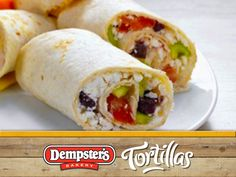 Wraps filled with feta vegetables – smarter – calories: 269 kcal – time: 25 min. I Love Food, Good Food, Yummy Food, Tasty, Greek Salad Recipes, Cooking Recipes, Healthy Recipes, Wrap Recipes, Wrap Sandwiches