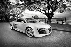 A White Tie Affair   Audi R8 V8...umm yes please