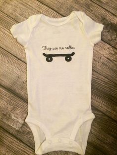 They see me rollin' baby boy bodysuit, baby skateboard clothes, baby skater, baby boy onesie, cute baby boy clothes, baby shower gift by Twelve20Designs on Etsy