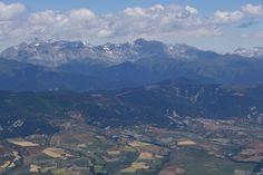 La sierra de la Partacua con las peñas Retona (2775 metros) y Telera (2763 metros)
