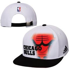 sneakers for cheap 3f788 5323d Chicago Bulls adidas Youth On Court Ball Boy Adjustable Hat – White Adidas  Hat, Nba