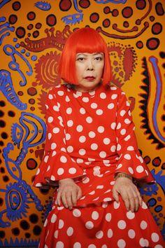 Yayoi Kusama, 2011. © Yayoi Kusama. Photograph by Yayoi Kusama Studio Inc.  Image courtesy Yayoi Kusma Studio Inc.; Ota Fine Arts, Tokyo; Victoria Miro Gallery, London; and Gagosian Gallery New York
