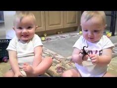 Mellizos Imitan El Estornudo De Papa! ★ Bebe Divertido Bebe Chistoso Bebe Risa Bebe Tierno Bebe - YouTube