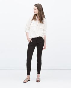 ZARA - WOMAN - INVISIBLE ZIP TROUSERS
