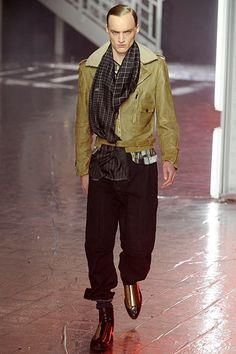 John Galliano Fall 2012 Menswear