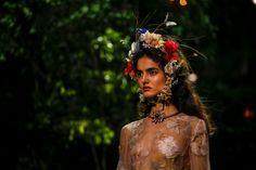 Le look beauté du défilé Dior haute couture printemps-été 2017