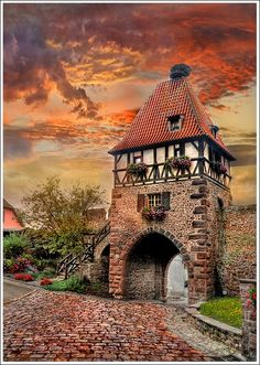 Chatenois - Alsace.I want to go see this place one day. Please check out my website Thanks. www.photopix.co.nz