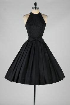 vintage 1950s dress . SUZY PERETTE . black by millstreetvintage. Love It!