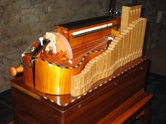 This instrument is called a lira organizzata