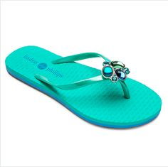 Supportive, comfy, and a little glam... What more could you ask for in a flip flop!? $24.99