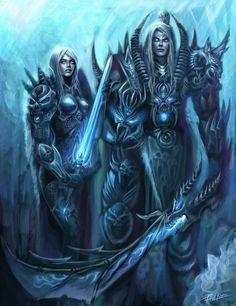 Death Knights by Zeronis.deviantart.com on @deviantART