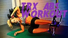 This 11 minute workout uses the TRX suspension trainer to tighten and tone your core. Shape and sculpt your abs with these great moves and keep your heart ra...