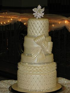 breathtaking! perfect bow! (taken from cakecentral.com gallery)
