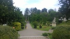 The botanical garden in Cluj is very beautiful