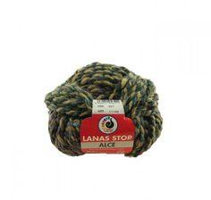 """#Lanas Stop """"Alce"""". Compuesta por un 53% lana merino, 47% acrílico. Agujas del 7 i 8. Ovillos de unos 42m."""