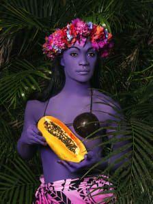Namsa Leuba's vivid portraits capture Tahiti's 'third gender' - CNN Style