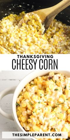 Crockpot Thanksgiving Corn