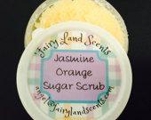 Jasmine Orange Sugar Scrub