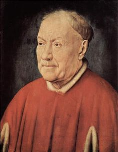 The Portrait of Cardinal Niccolò Albergati is a painting by early Netherlandish painter Jan van Eyck, dating to around 1431 and currently housed in the Kunsthistorisches Museum of Vienna, Austria. Jan Van Eyck, Renaissance Kunst, Renaissance Artists, Renaissance Paintings, Ghent Altarpiece, Kunsthistorisches Museum Wien, Silverpoint, Google Art Project, John The Baptist