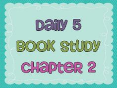 Book Study Ch 2 - Teaching With Style