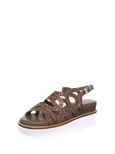 90% OFF STEPHANE KELIAN Women's Delire Flat Sandal (Argile)