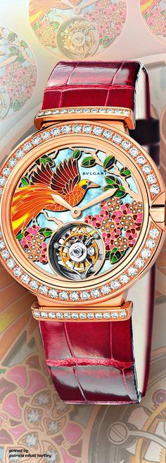 Rosamaria G Frangini   High Watch Jewellery   Colorful Jewellery    Bvlgari