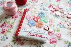 Cherry Heart: cute needle book