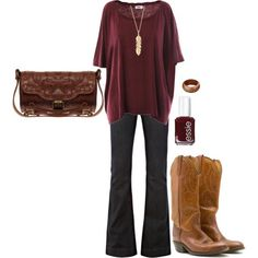 Yay for boot outfit ideas. I know everything is better in my Justins!!!