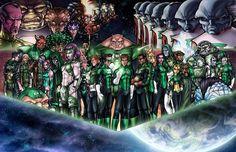 Wallpaper for Desktop: green lantern corps