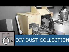 The Ultimate Dust Collection Hood for a Miter Saw - YouTube