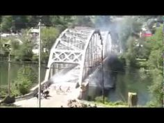 ▶ Reenactment of the battle for the bridge at Remagen 2013 Tidioute Pa - YouTube