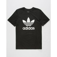 7173e1d89f2d27 Adidas Trefoil Boys T-Shirt ( 25) ❤ liked on Polyvore featuring men s  fashion