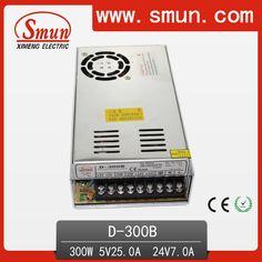 D-300B 5V 25A/24V 7A Dual Output AC-DC Switching Power Supply