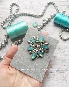 Всем доброго дня! Поистине летние краски☀️🌿 Покажу детали работы🤗 #handmadejewellery #handmade #jewelry #ngnbwdm #сотуар #сотуарскистью…