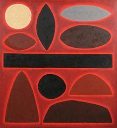 John Coburn, Territory Landscape, 2001