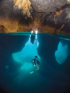 KohHaa's Cathedral features a dramatic cavern.  Dive Thailand Aboard the Aggressor Liveaboard | Thailand Diving | Photo Gallery | Scuba Diving