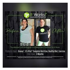 This is absolutely amazing!!! Consistency is key!  Lifestyle change is key!  This is what It Works is all about!  #itworks #consistencyiskey