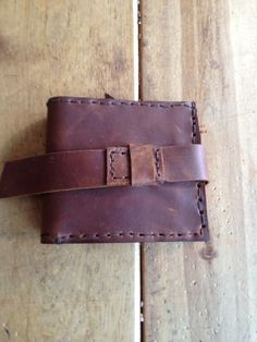 aixa sobin hand stitched mens leather wallet