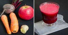 Ce se întâmplă, când combinați sfecla roșie, morcovul și merele