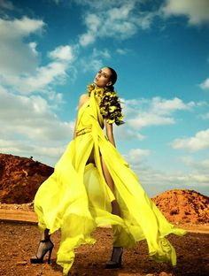 high-#fashion in a yellow mood!
