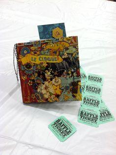 Graphic 45 Le Cirque Collection Mini Scrapbook Made by Elizabeth Killian at Scrapbook Expo Minneapolis July 27, 2013